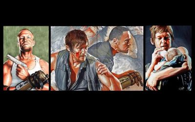 The Walking Dead Dixon Brothers by Dr-Horrible
