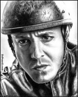 Theo Rossi as JUICE - SONS OF ANARCHY by Doctor-Pencil