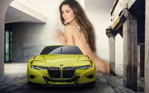 2015 Bmw 30 Csl Hommage Concept-wide by cocos671