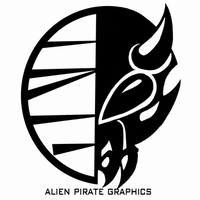 Alien Pirate Graphics by Coinin