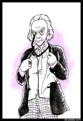 Doctor Who - William Hartnell by ThePandamis