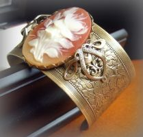 La Belle Anne handmade cuff br by DesireeMorte