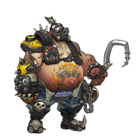 Roadhog - Overwatch by PlanK-69