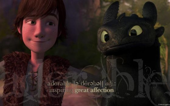 HTTYD-Adorable Wallpaper by inhonoredglory