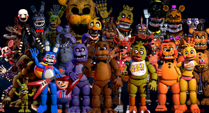 [SFM FNAF] ''Thank you!'' Picture (LAST Remake) by LineX240