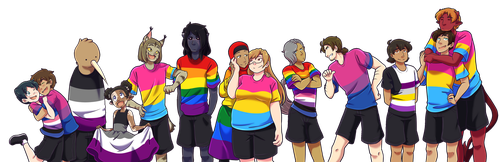 look at all this gay by MagicalPouchOfMagic