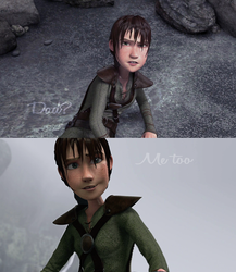 Fem!Hiccup: I'm sorry, for everything by AvannaK