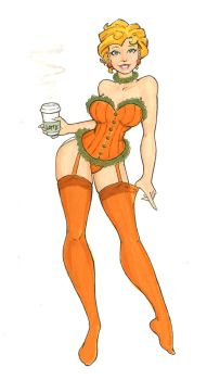 Pumpkin Spice by JohnRose-Illustrator