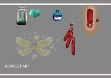 Item Concept Art by Jabbersnatchs