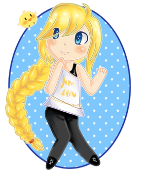 Colette Chibi by Niele9
