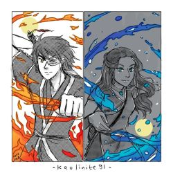 ATLA: Fire and Water by LiniAriva