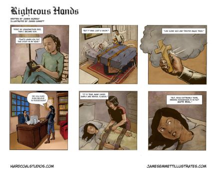 Righteous Hands Web Comic #3 by jemurr