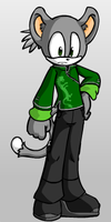 Tobias the Lemur by JacobDSArt