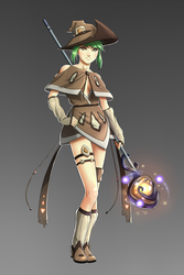 Anime Witch Design by BannanaPower