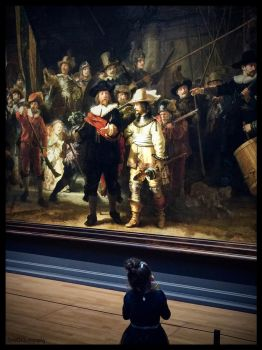 THE NIGHT WATCH and my GRANDDAUGHTER by IME54-ART-ILONA