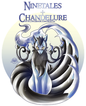 Ninetales X Chandelure [Closed] by Seoxys6