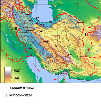 Empire of Iran with client Kingdoms (2035-present) by Macharius88
