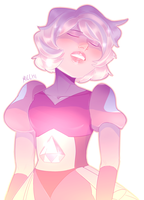 PINK DIAMOND [STEVEN UNIVERSE] by Micchi-Draws