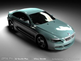 BMW M6 by blackpower2009