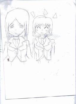 Liz and Patty Thompson (Soul Eater) by Lily-the-Vocaloid