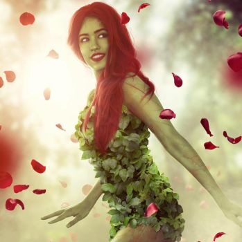 Poison Ivy Cosplay by inustwin6789