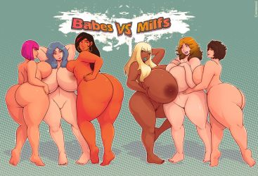 Babes vs Milfs by Carmessi