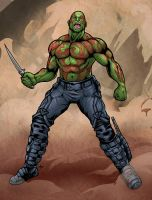 Drax the Destroyer by edcomics