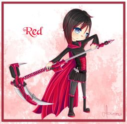 Red like Roses by hazu-i
