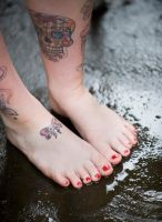 Barefoot in the Rain by MTL3