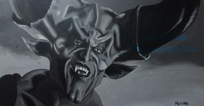 Tim Curry as the 'Lord of Darkness' from Legend by miz-mezzy