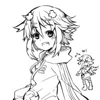 neptune doodle by Ge-B