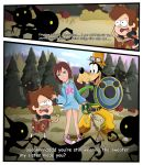 Kingdom Hearts 3- Welcome to Gravity Falls by xeternalflamebryx