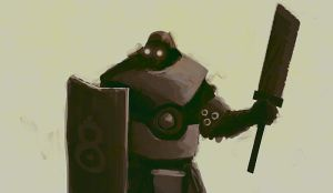 RoboKnight by TheTrooper