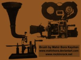 Movie - Old Record - Brushes by RockID