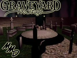 MMD Grave Yard Stage Download by SachiShirakawa