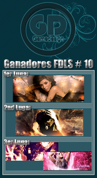 FDLS No.10 Winners Tagwall by gamedesign-gfx