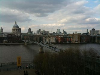 river view of st. pauls by Hobbit-San