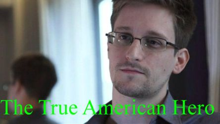 Edward Snowden - True Hero by Jax1776