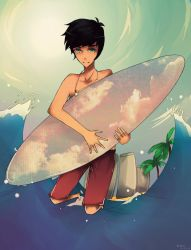 C loves surfing yayay Q // a // Q by lumiorah