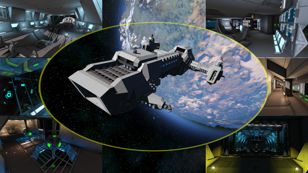 KCL Corporate Frigate @ Space Engineers by Vince-T