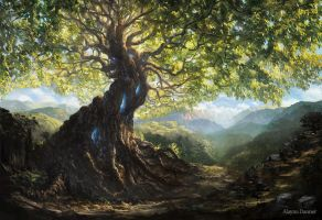 Yggdrasil, Life Tree by Alayna