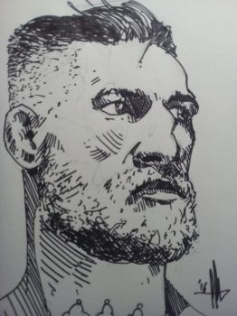 Conor McGregor Sketch by amartires