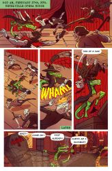 Death Valet Chapter One Page One by A-Fox-Of-Fiction