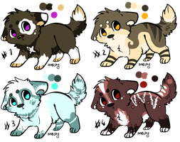 Wolf Pup Adopts ~Closed~ by Little-Shop-Of-Echos