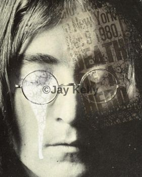 John Lennon by OfficialJayKelly