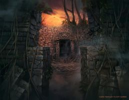 Ancient Entryway by Nele-Diel