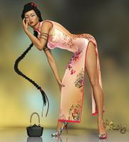 Miss Wong by Roy3D