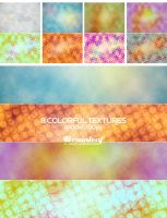 Colorful Gunge Textures 01 by Ransie3