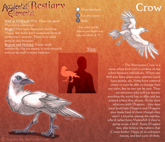 A.E. Bestiary: Crow by Accidental-Elemental