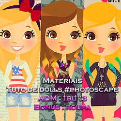 Materias Dolls by BiancaLacerda